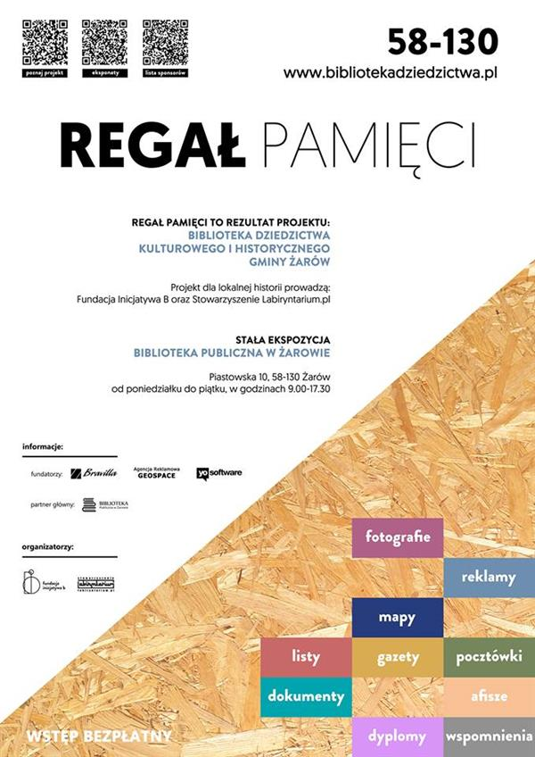 plakat regal